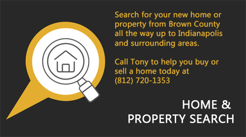 Brown County & Indianapolis area home search
